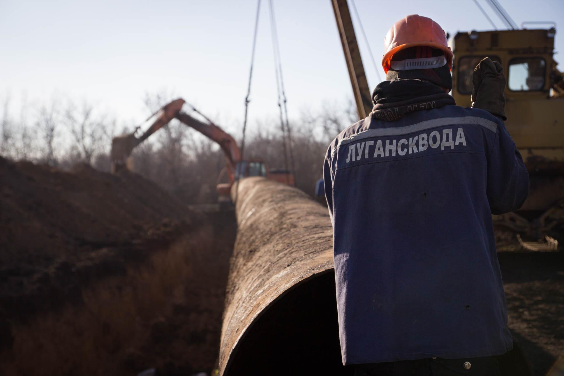 14 апреля специалисты Луганскводы планируют провести ремонт Свердловского водовода