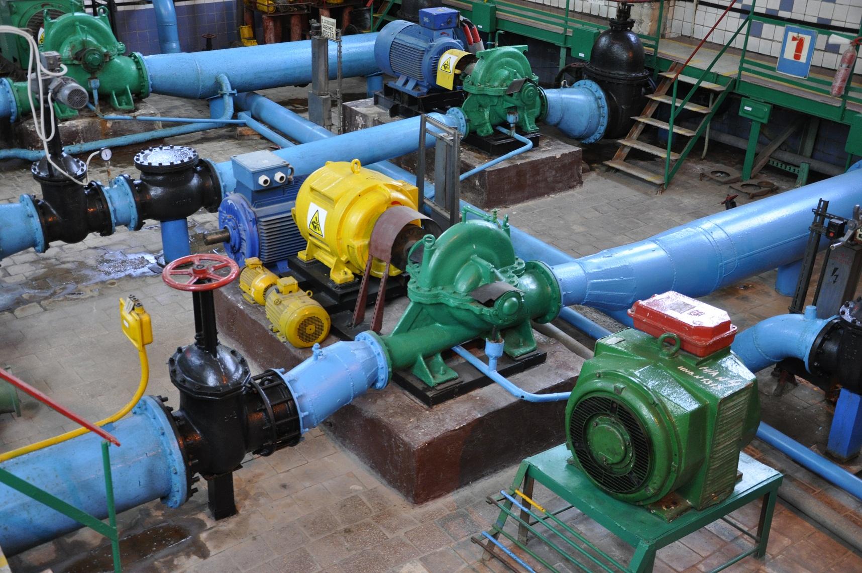 29 апреля специалисты осуществят ремонт оборудования на Лутугинской насосной станции