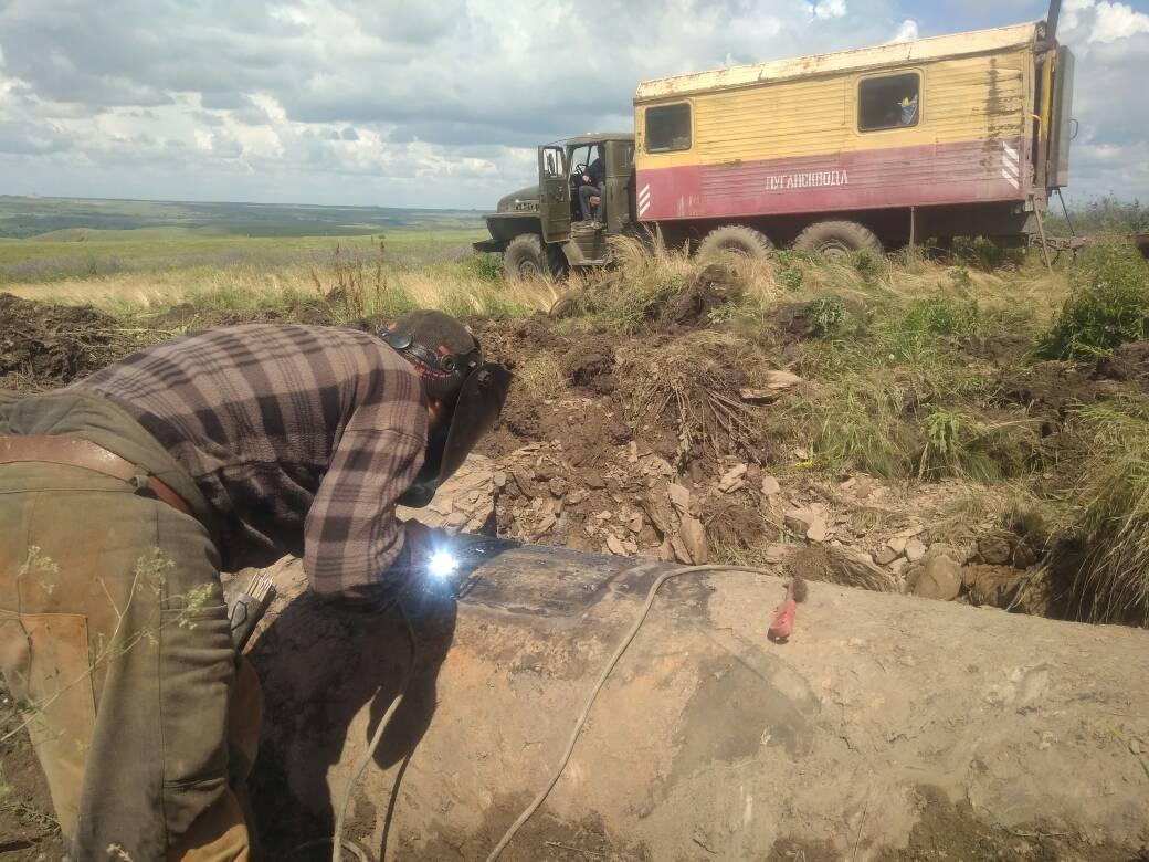 Из-за аварии на водоводе сокращена подача воды в ряд населенных пунктов Республики