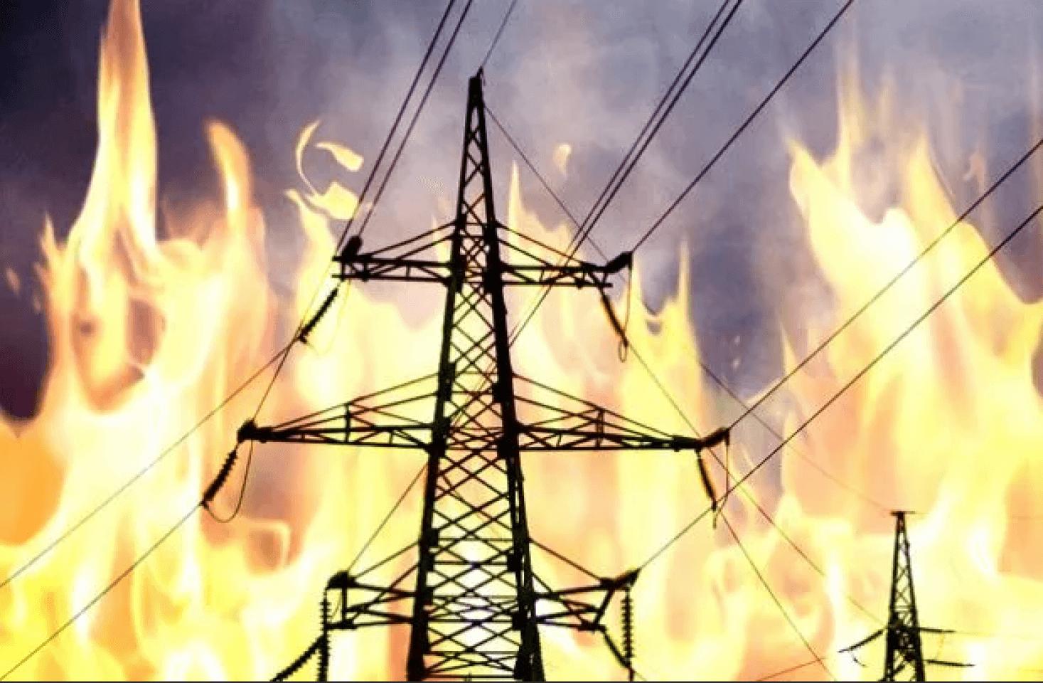 Возгорание в «серой зоне» повредило энергоснабжение скважин Славяносербского водозабора, что привело к сокращению подачи воды на отдельные города республики