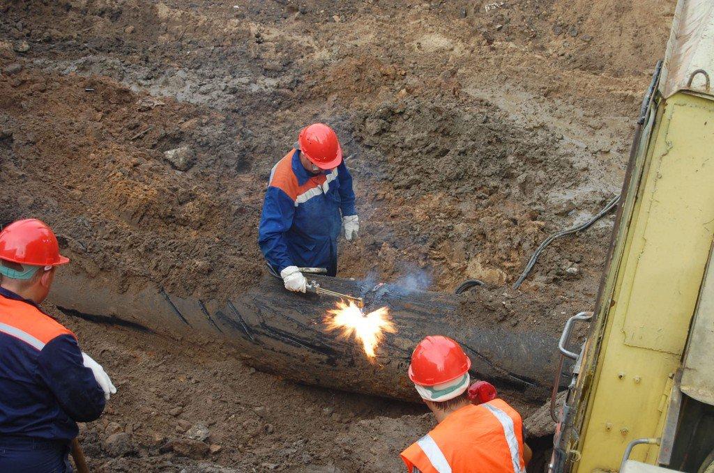 15 сентября проводятся аварийно-восстановительные работы на Яновском водоводе